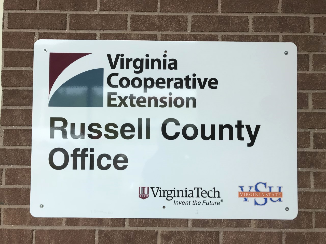 VCE Russell Office Sign